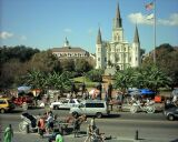Jackson Square with St. Louis Cathedral.