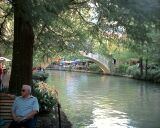 The attraction of San Antonio: THE RIVERWALK.